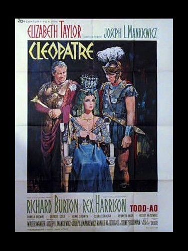 Affiche du film CLEOPATRE