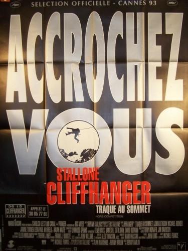 Affiche du film CLIFFHANGER